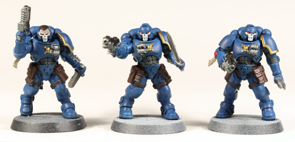 Basecoated Space Marines